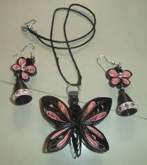 30 simple and paper quilling jewellery designs