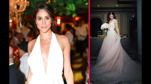 carolyn bessette kennedy meghan markle u0027s wedding dress likely to be classic gown inspired