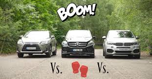 lexus suv vs bmw suv head2head bmw x5 vs mercedes gle vs lexus rx clublexus