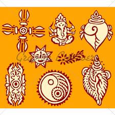 indian ornaments gl stock images