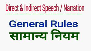 direct indirect speech narration english grammar hindi