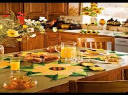sunflower kitchen ideas sunflower kitchen decorating ideas