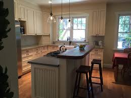 kitchen island fennig construction