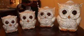 owl kitchen canisters canister sets for kitchen ceramic foter