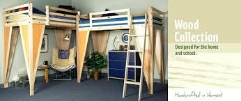 lofted full bed frame u2013 pianotiles info