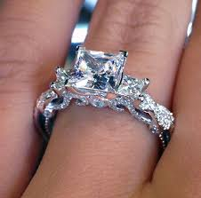 Square Wedding Rings by Antique Wedding Rings Jewelrista