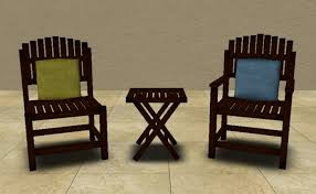 Wood Patio Chairs Modern Style Colored Patio Furniture And Patio Furniture Plastic
