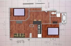 chambre t2 architecture intérieur transformer un t2 en t3