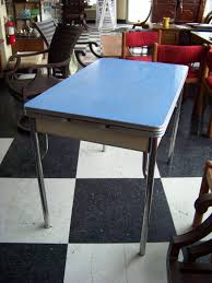 Retro Kitchen Table Chrome Tables Us Vintage Chrome - Retro formica kitchen table