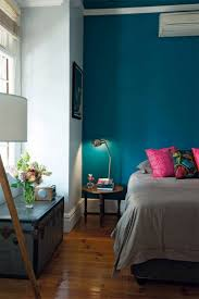 Schlafzimmer Wandfarbe Blau Wandfarbe Petrol Wirkung Und Ideen Für Farbkombinationen