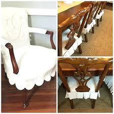 Slipcover Dining Chair Covers Dining Table Slipcovers Dining Chairs Slipcover Chair Room Table
