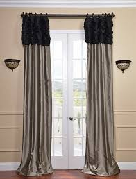 Silver Black Curtains Decorate Your Home With Silver Curtains Darbylanefurniture