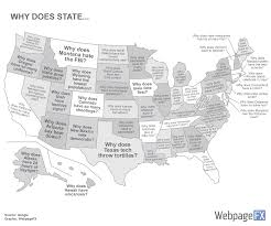 Virginia City Nevada Map by 5 Maps Of The Most Popular And Weird Us State Searches