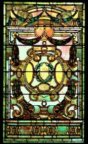 Louis Comfort Tiffany Stained Glass Tiffany The Whitney Restaurant Stained Glass Window Stained