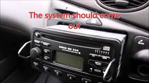 radio for ford focus how to find the serial number for your ford stereo radio cd player