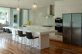 nice kitchen designs kitchen simple kitchen breakfast bar with high wooden stools and