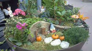 ideas for making a fairy garden margarite gardens