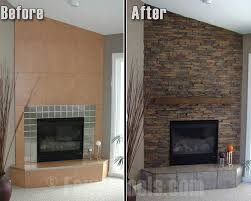 Fake Outdoor Fireplace - fireplace surrounds of faux brick and stone