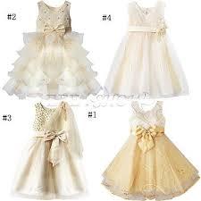 robe bebe mariage fille bébé princesse robe tenue soirée mariage ceremonie bapteme
