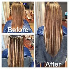 microbead extensions 8 best extensions images on extensions hair looks and