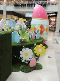 Cheap Easter Outdoor Decorations by We Custom Designed This Easter Set For The Bridgewater Commons