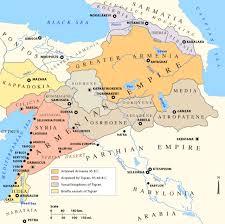 armenia on world map maps of the armenian empire of tigranes kingdom of armenia