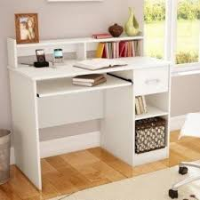 Small Desktop Shelving Small Computer Desk With Drawers Foter