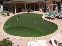 lubbock putting greens golf greens texas artificial grass