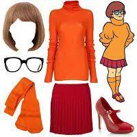 Scooby Doo Gang Halloween Costumes Velma Scooby Doo Costume Inspiratio Halloween Costume