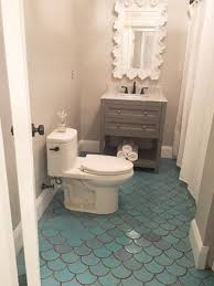 bathroom ideas colors for small bathrooms 3 small bathroom ideas using moroccan fish scales