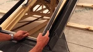 fixing installing lightweight roofing velux roof window
