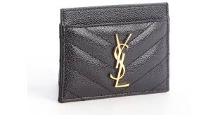 ysl business card holder ysl business card holder laurent black quilted leather ysl