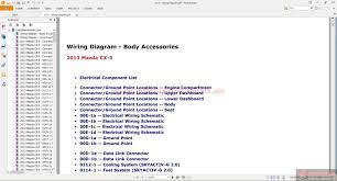 mazda cx 5 2013 workshop manual auto repair manual forum heavy