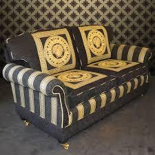 Versace Bedroom Set Italian Medusa Sofa U0026 Dining Set Ex Display Exd Est Sofa