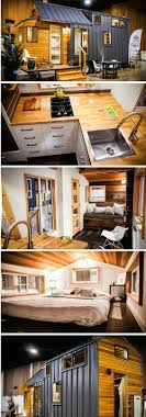 home design eugene oregon the 204 sq ft kootenay tiny house on wheels from greenleaf tiny