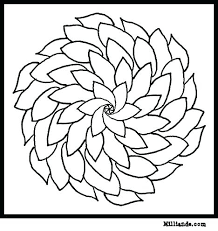 pattern color pages flower coloring pages best flower pattern