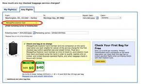 united airlines domestic baggage the easy way to find out how much checked bags will cost on united