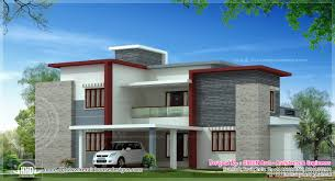 sq feet flat roof contemporary home design kerala home design