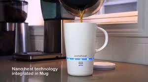 Heated Coffee Mug New Invention Nano Heated Wireless Mug Cup Youtube