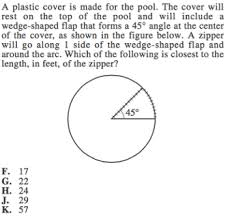 circles on act math geometry formulas and strategies