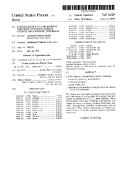 patent us5674829 stable aqueous glutaraldehyde solutions