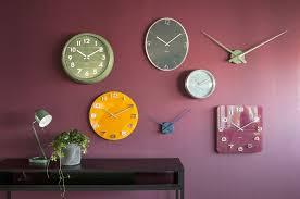 Grande Horloge Murale Carrée En Bois Vintage Achat Horloge Murale Vintage Carrée Karlsson Present Karlsson