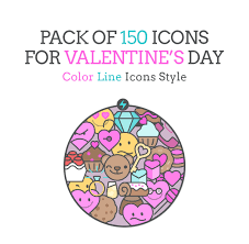 150 free valentine u0027s day icons pixel perfect vector icons for