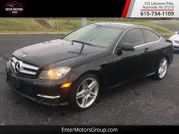 used mercedes 2013 used mercedes benz c class 2dr coupe c 250 rwd at enter