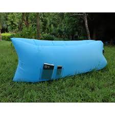 canap gonflable ext rieur canapé gonflable avec poche sofa extérieur sac de couchage coussin