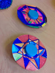 at making crafts cd spinner