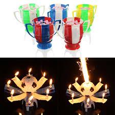 amazing happy birthday candle amazing musical football rotating happy birthday candle