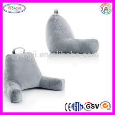 Armchair Pillow For Bed E234 Bedding Shredded Foam Reading Pillow Armrest Back Head