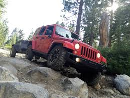 jeep offroad trailer motor mountain usa top of california and rubicon and rubicon