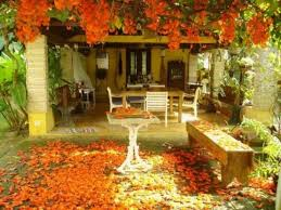 Fall Garden Decorating Ideas 55 Cozy Fall Patio Decorating Ideas Digsdigs
